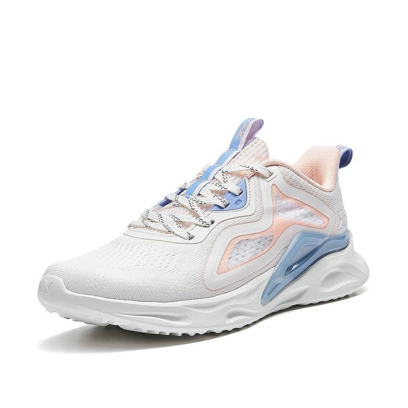 特步 专柜款 女子跑鞋 21年新款 休闲时尚舒适跑步鞋979218111100