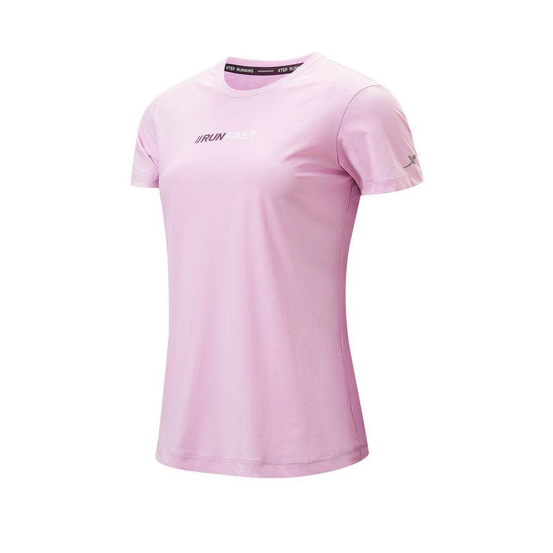 专柜款 女子短袖针织衫 21年新款 轻薄运动休闲舒适T恤979228010378