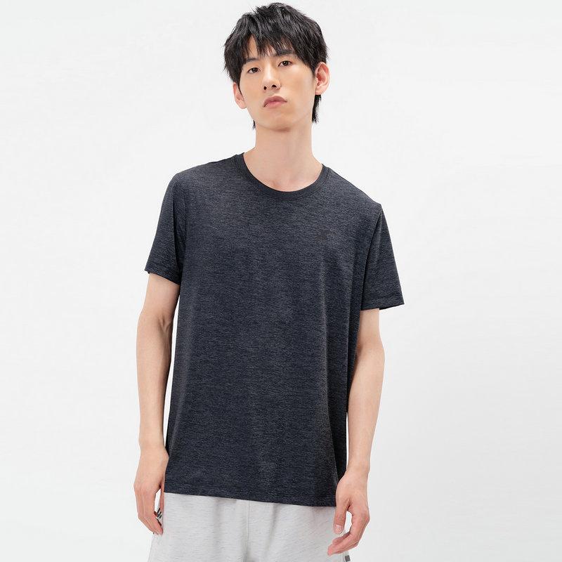 特步 专柜款 男子短袖针织衫 21年新款 舒适跑步健身轻便T恤979229010393