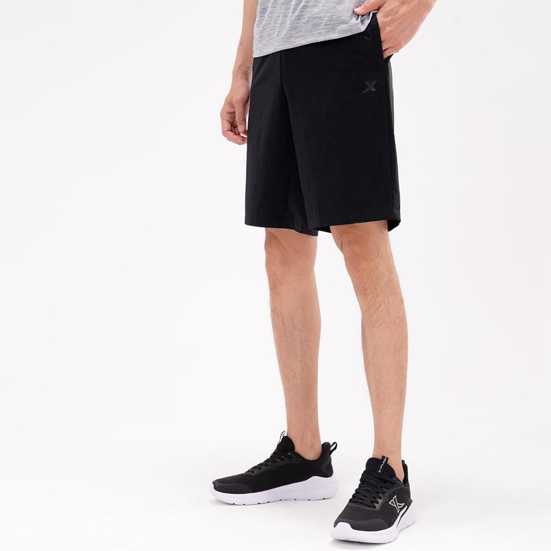 特步 专柜款 男子运动梭织五分裤 21年新款 时尚运动百搭五分裤979229970302