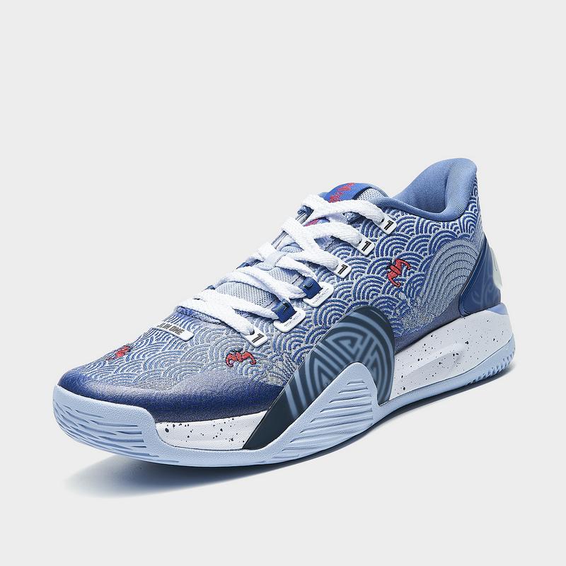 【林书豪同款】特步 专柜款 男子篮球鞋 21年新款 时尚低帮缓震运动篮球鞋 979119120008