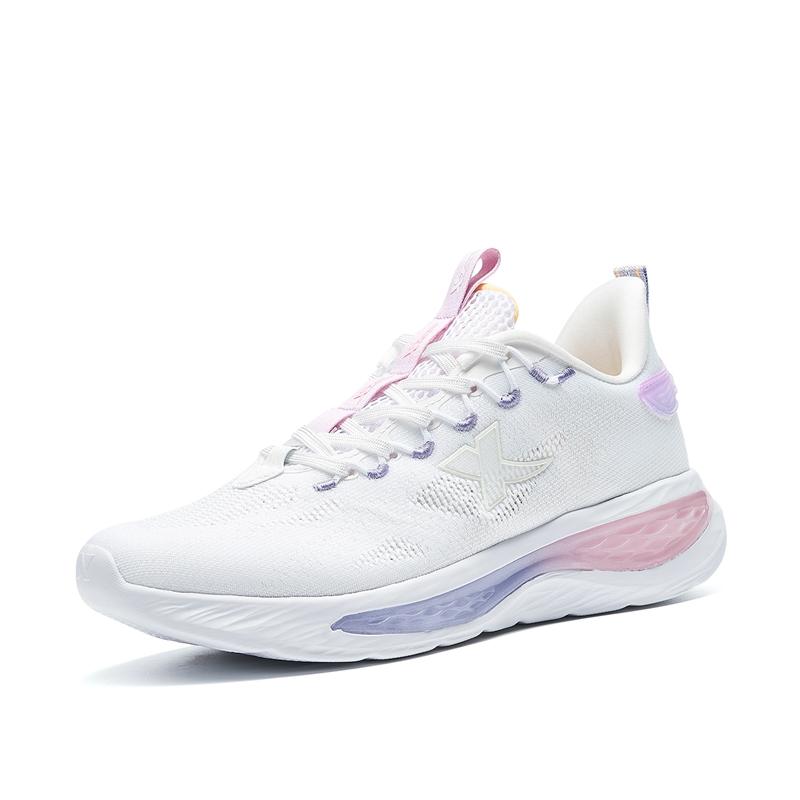 特步 专柜款 女子跑鞋 21年新款 减震轻便舒适时尚百搭女跑鞋979218111028