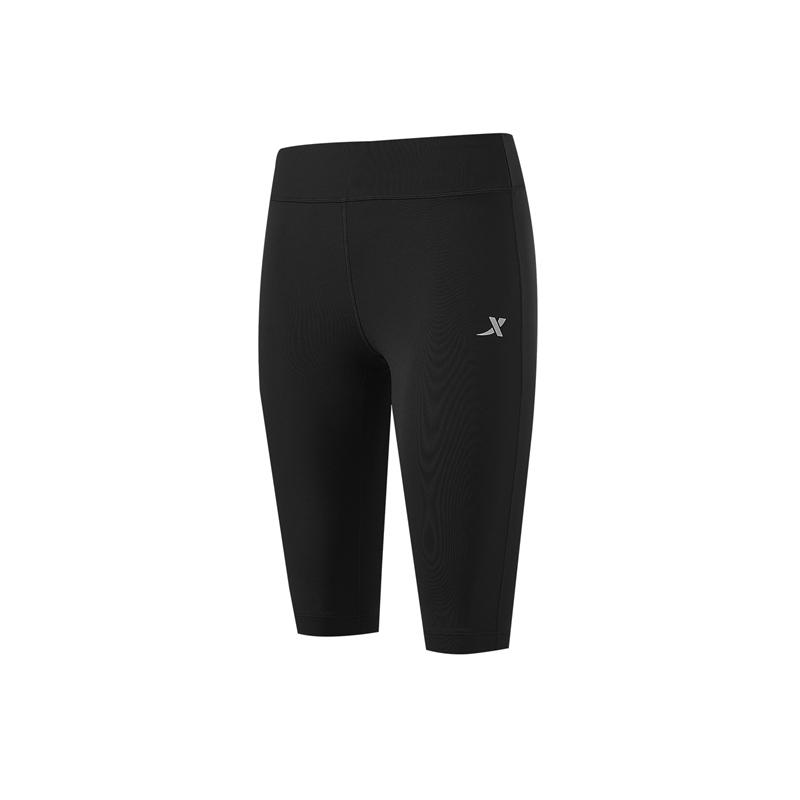 特步 专柜款 女子专业紧身裤 21年新款 专业运动跑步瑜伽紧身裤979228580375