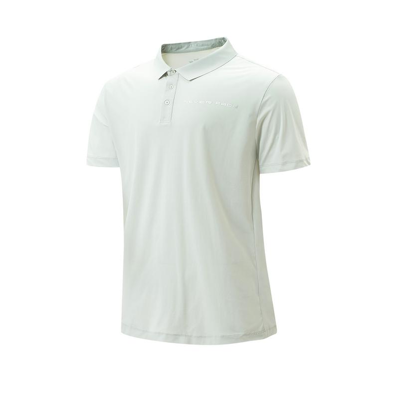 特步 专柜款 男子短袖POLO衫 21年新款 休闲百搭简约POLO衫979229020286