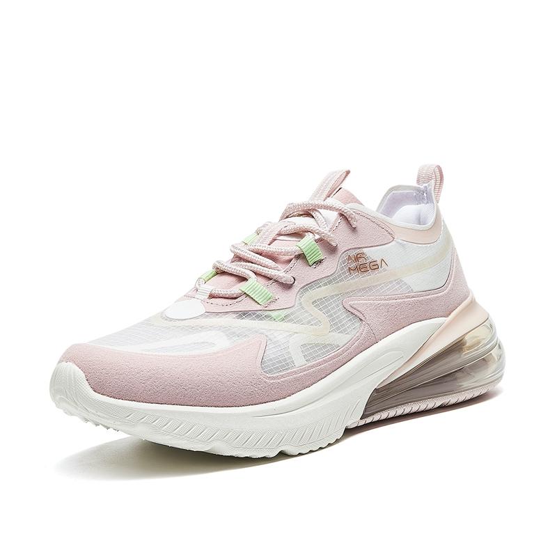 特步 专柜款 女子跑鞋 21年夏季新款 运动跑步休闲半掌气垫跑鞋 979218111162