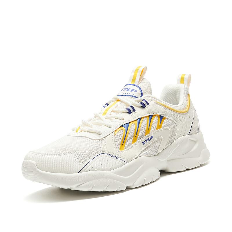 特步 专柜款 男子休闲鞋 21年夏季新款 运动时尚厚底增高休闲鞋 979219320803
