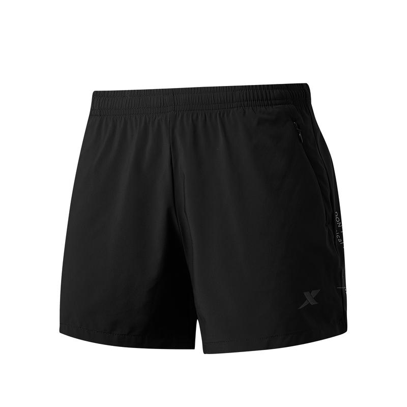 特步 专柜款 女子梭织运动短裤 21年夏季新款 运动健身跑步短裤979228240213