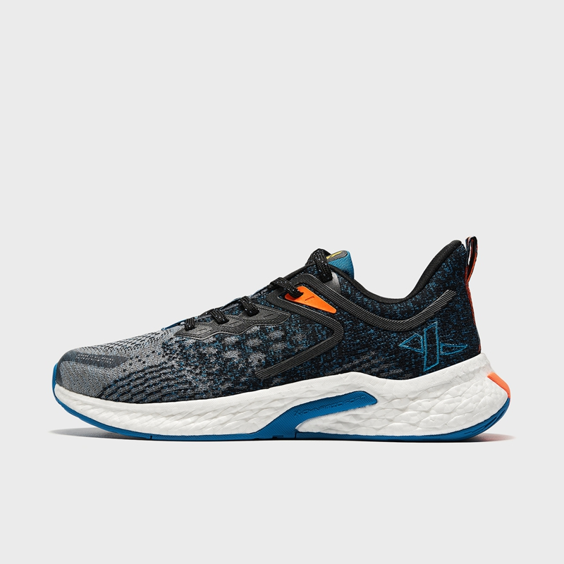 【动力巢科技】特步 专柜款 男子跑鞋 21年新款 回弹网面透气缓震运动鞋979119111017