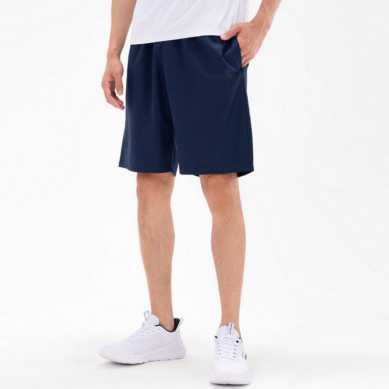 特步 男子梭织中裤 21年夏季新款 运动裤舒适跑步健身五分裤879229680327