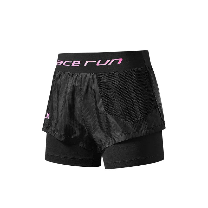 特步 女子梭织运动短裤 21年夏季新款 运动裤跑步瑜伽短裤979128240145