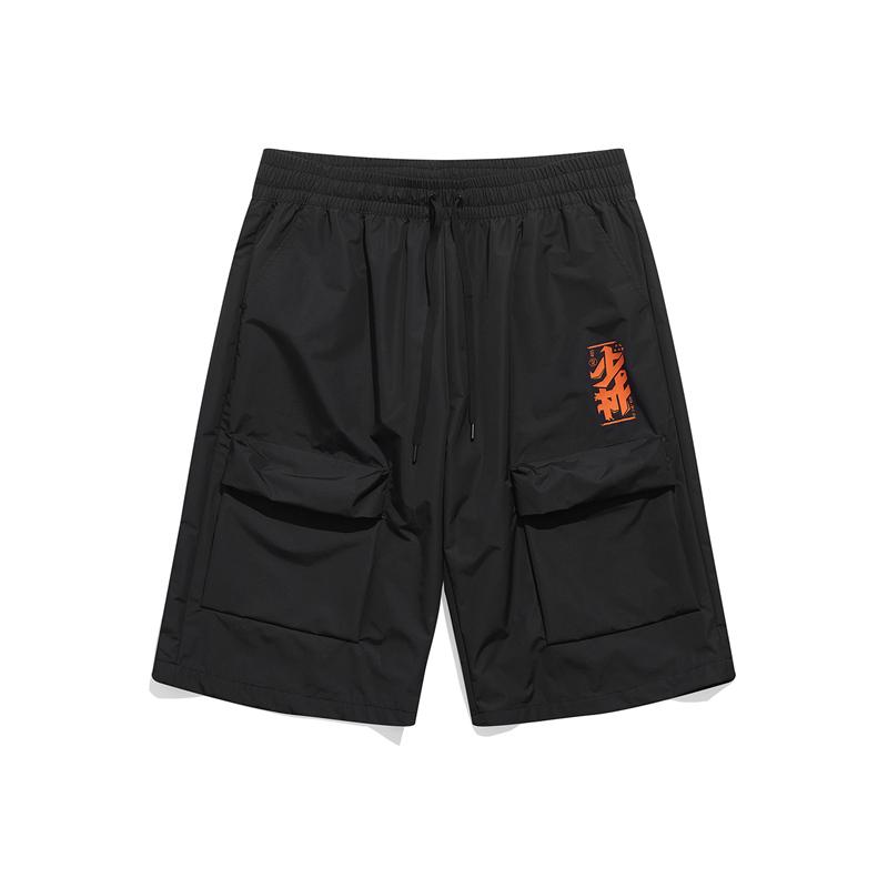 【少林联名】特步 专柜款 男子短裤 21年新款 汪东城同款时尚休闲百搭短裤979429970505