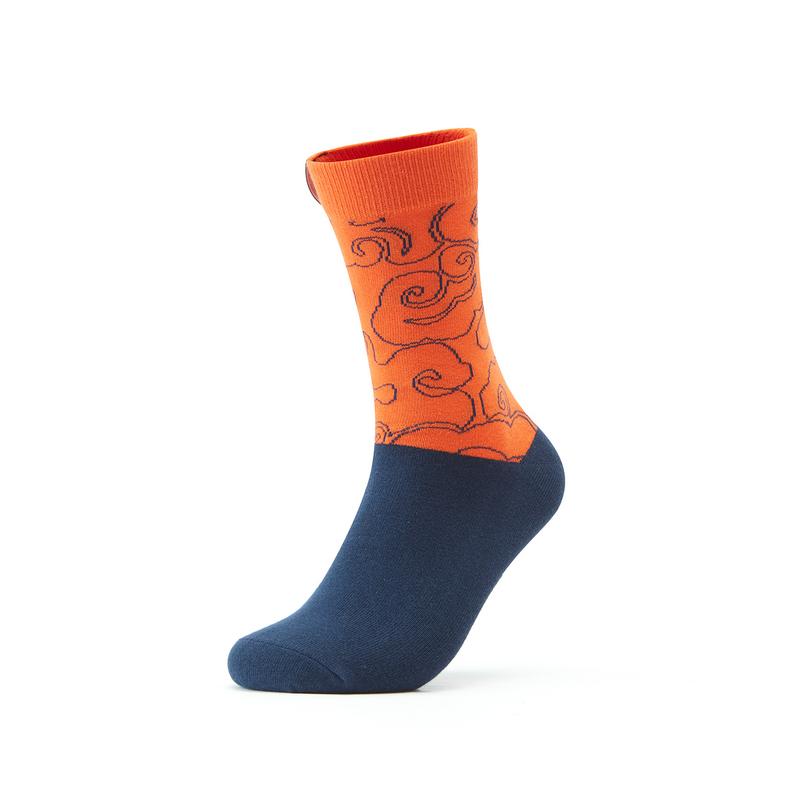 【少林联名】特步 专柜款 男女长袜 21年新款 潮流时尚运动长袜979337573233