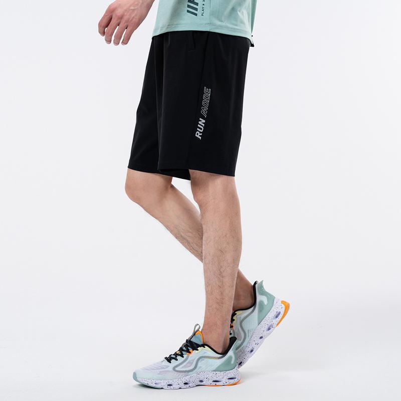 专柜款 男子针织短裤 21年新款 运动跑步舒适休闲男子短裤五分裤979329600233