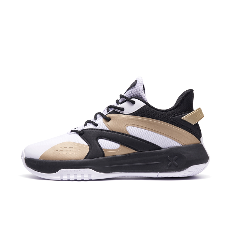 特步 男子篮球鞋 21年新款 减震透气舒适男子篮球鞋879319120007
