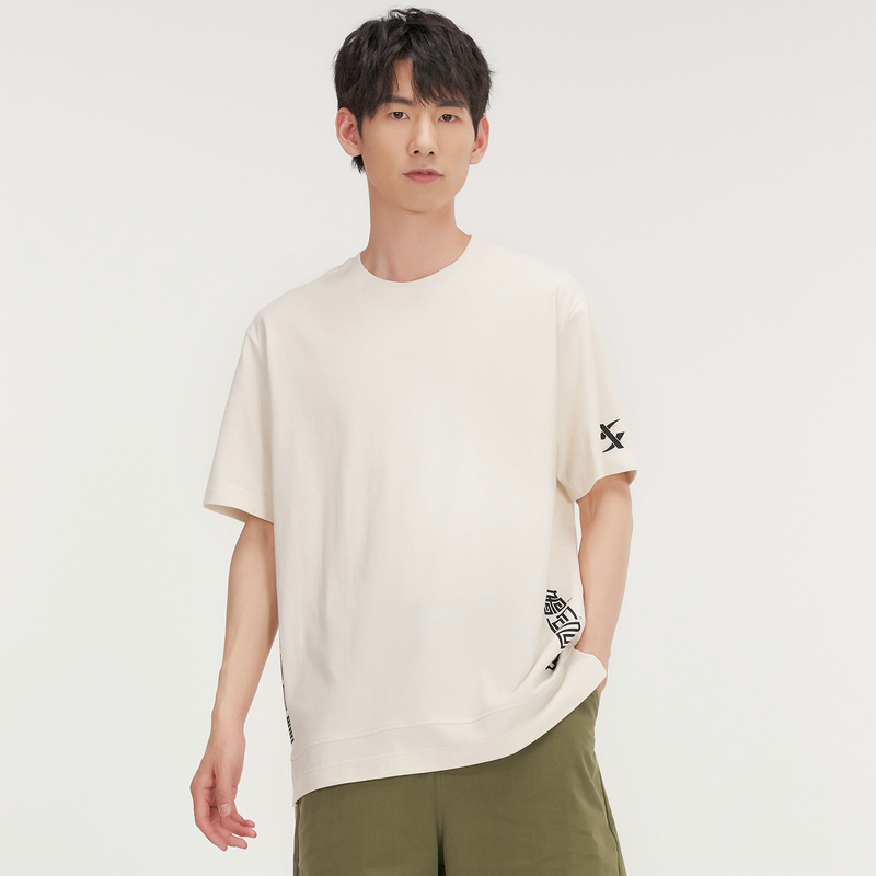 【少林系列】男子针织衫 21年新款 时尚简约休闲百搭男子T恤879229010029