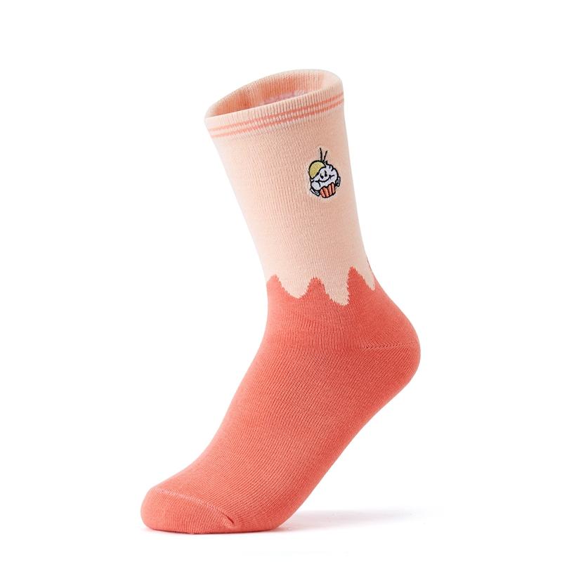 特步 女子平板长袜 21年新款(3双装) 休闲时尚弹力收缩时尚长袜879338560028