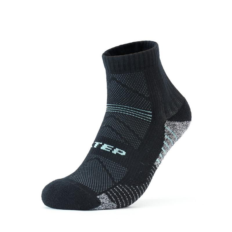 特步 男毛圈跑步中袜 21年新款(3双装) 运动袜弹力防滑马拉松功能袜子879339550039