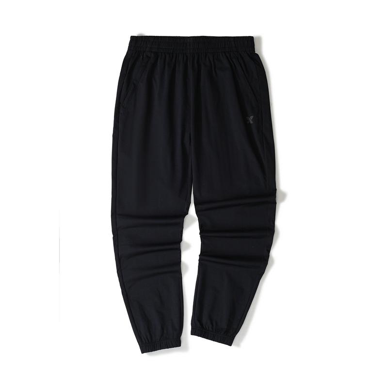 特步 男子针织长裤 21年新款 简约百搭休闲舒适男子长裤879229630358