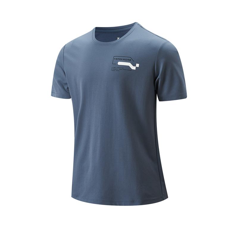 专柜款 男子短袖针织衫 21年新款 运动舒适健身跑步男子T恤979329010313