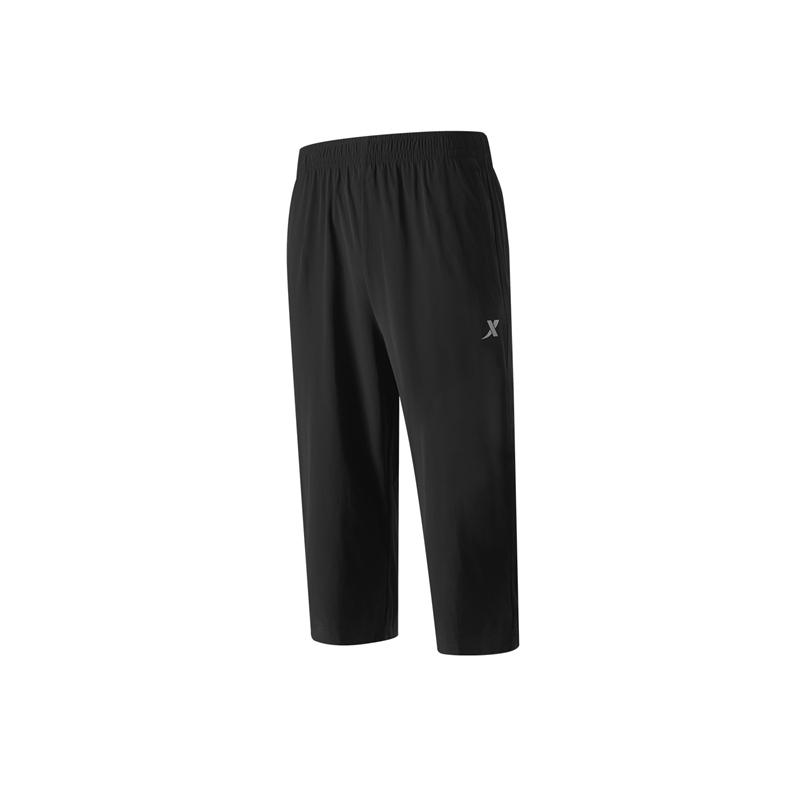 专柜款 男子针织七分裤21年新款 跑步休闲运动舒适男子梭织运动短裤979329620239