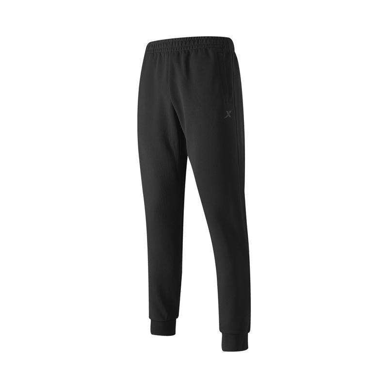 特步 专柜款 男子针织长裤 21年新款 休闲都市舒适百搭男子长裤979329630341