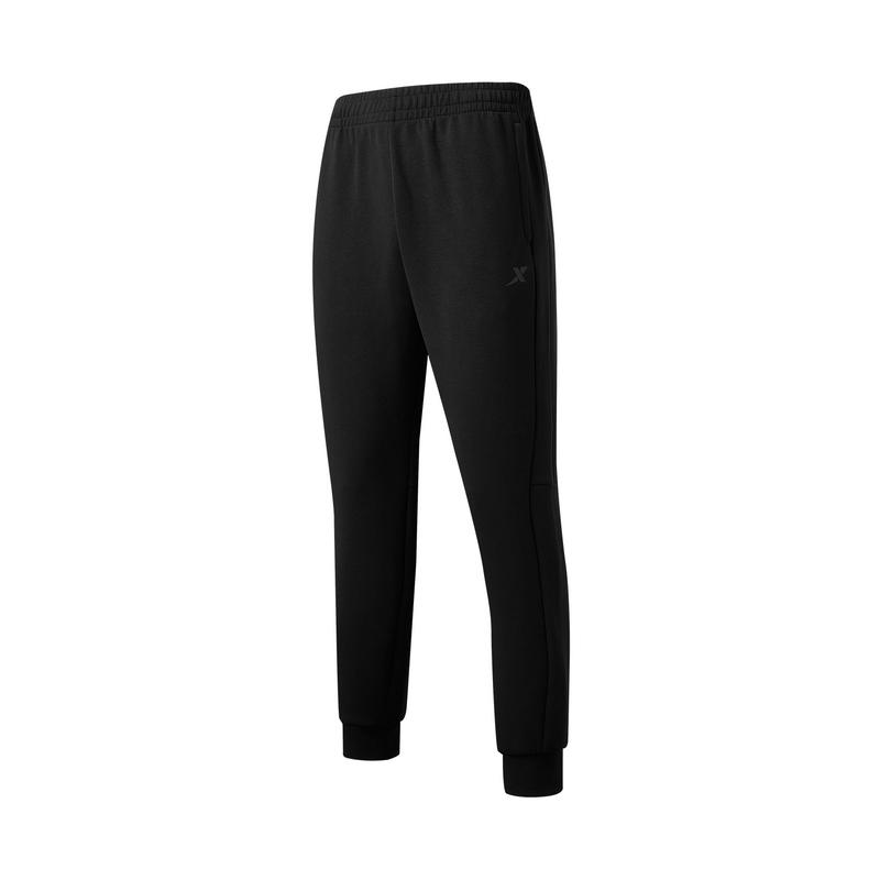 特步 专柜款 男子针织长裤 21年新款 运动舒适简约百搭男子长裤979329630351