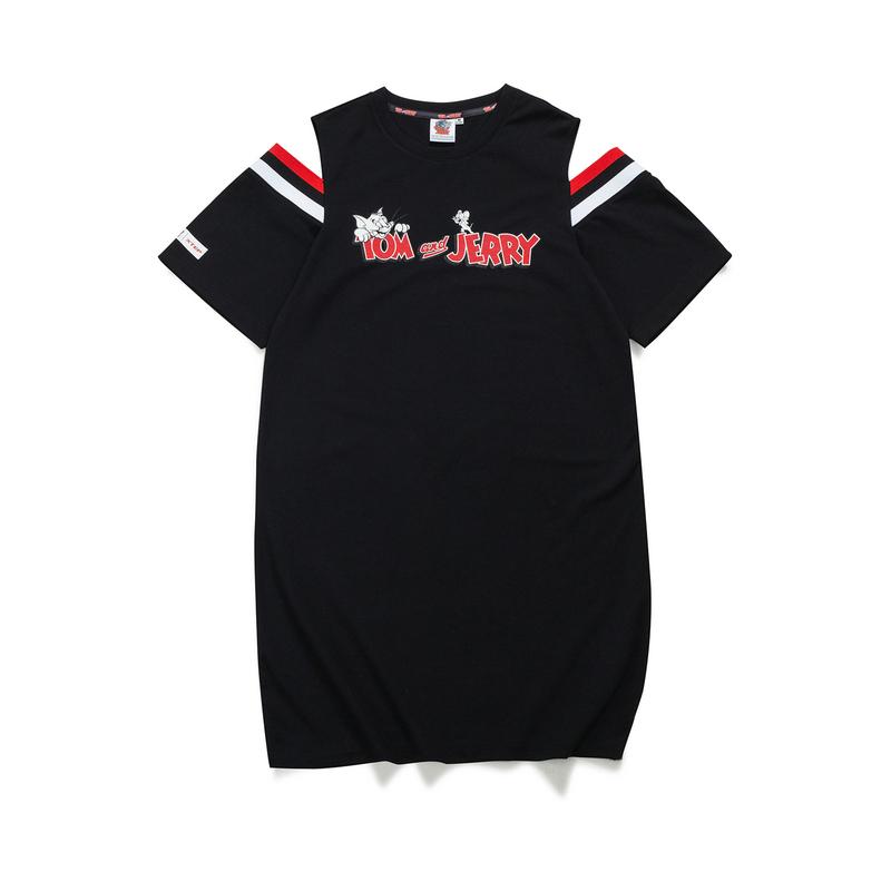 特步 女子短袖针织衫 21年新款 百搭潮流舒适休闲女子T恤879228010382