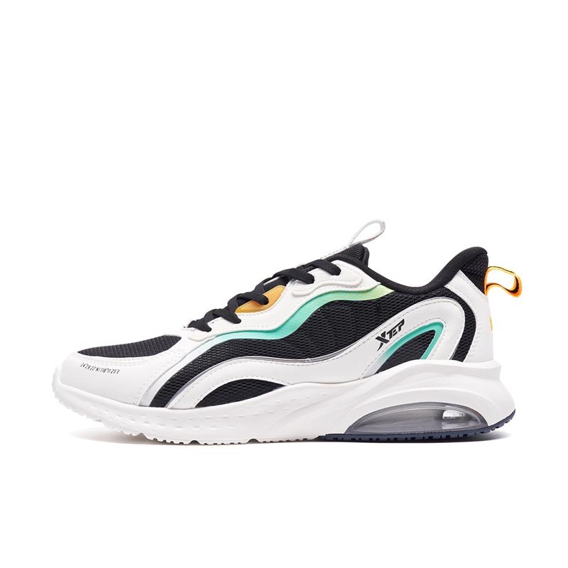 特步专柜款 男子跑鞋 21年新款 运动跑步舒适减震气垫鞋979319110020