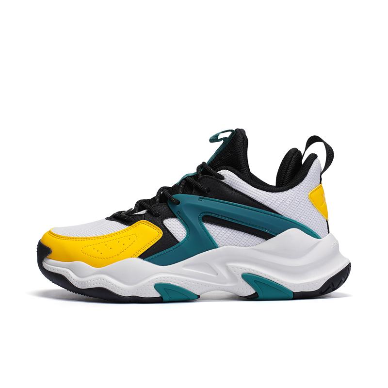专柜款 男子篮球鞋 21年新款 中帮舒适减震透气男篮球鞋979319120123