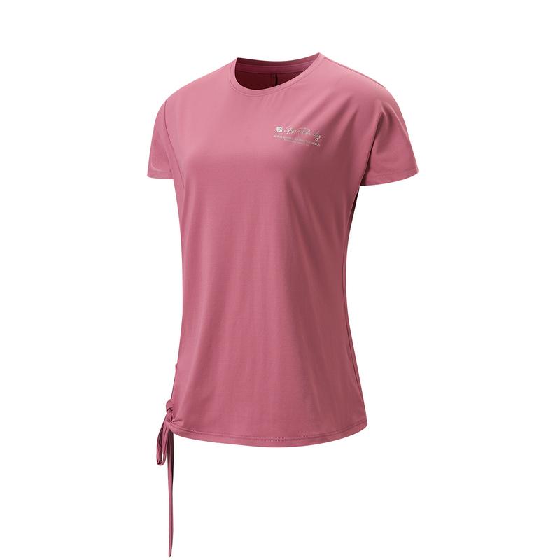 专柜款 女子短袖针织衫 21年新款 综训瑜伽跑步透气女T恤979328010014