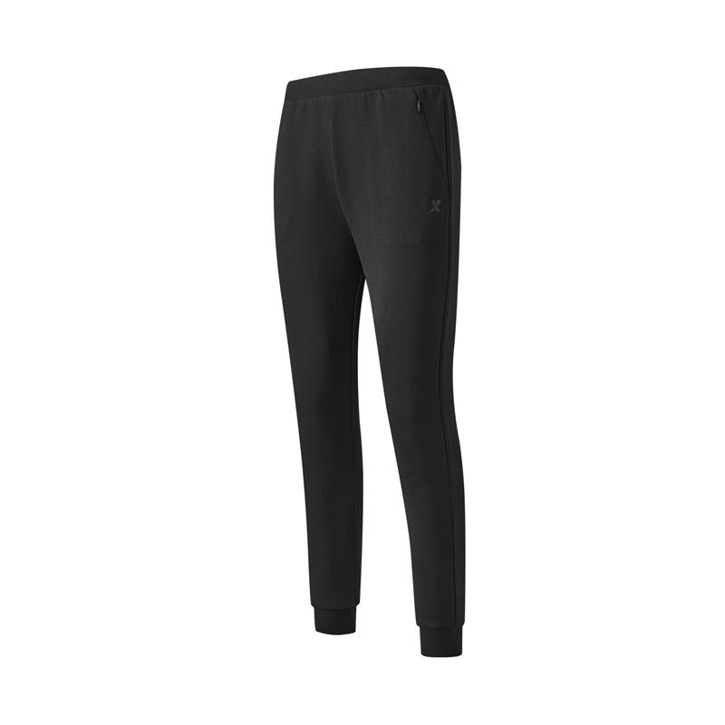 特步 专柜款 女子针织长裤 21年新款 运动休闲百搭舒适女长裤979328630019