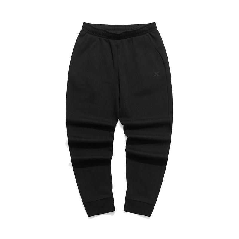 特步 专柜款 女子针织九分裤 21年新款 运动休闲百搭舒适女长裤九分裤979328840171