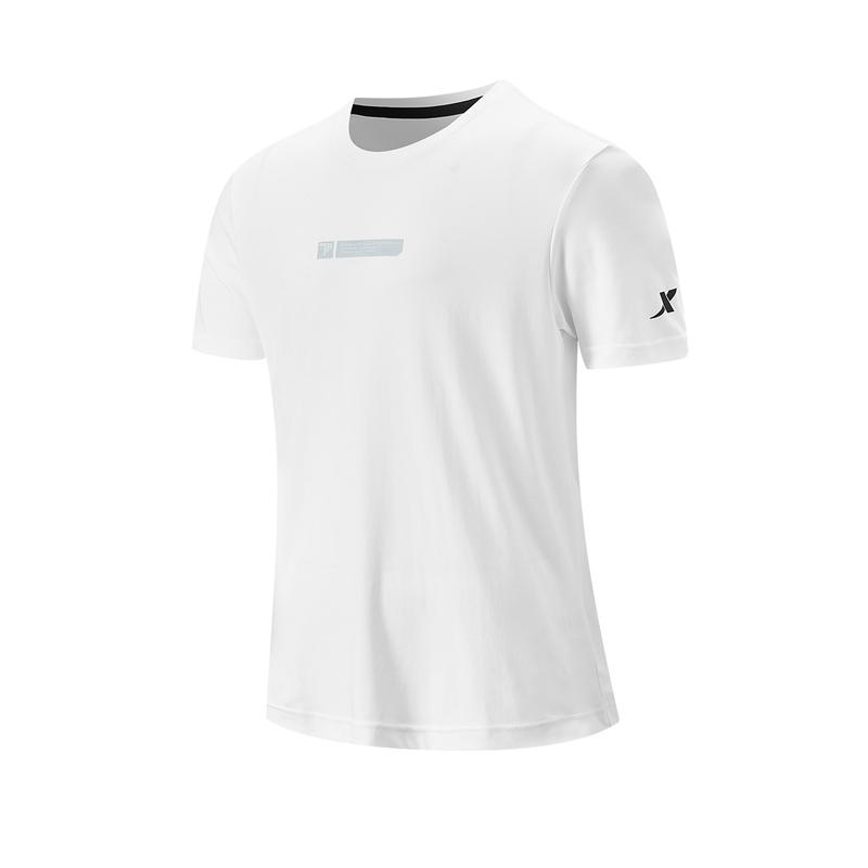 特步 专柜款 男子短袖针织衫 21年新款 综训健身跑步透气男T恤979329010324