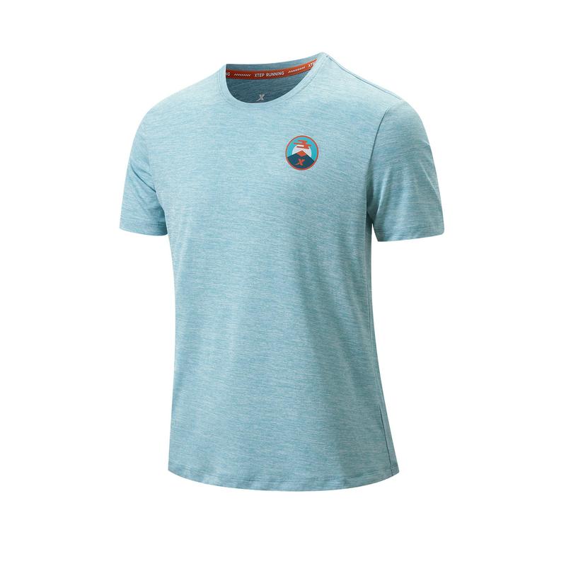 专柜款 男子短袖针织衫 21年新款 跑步健身运动舒适男T恤979329010576