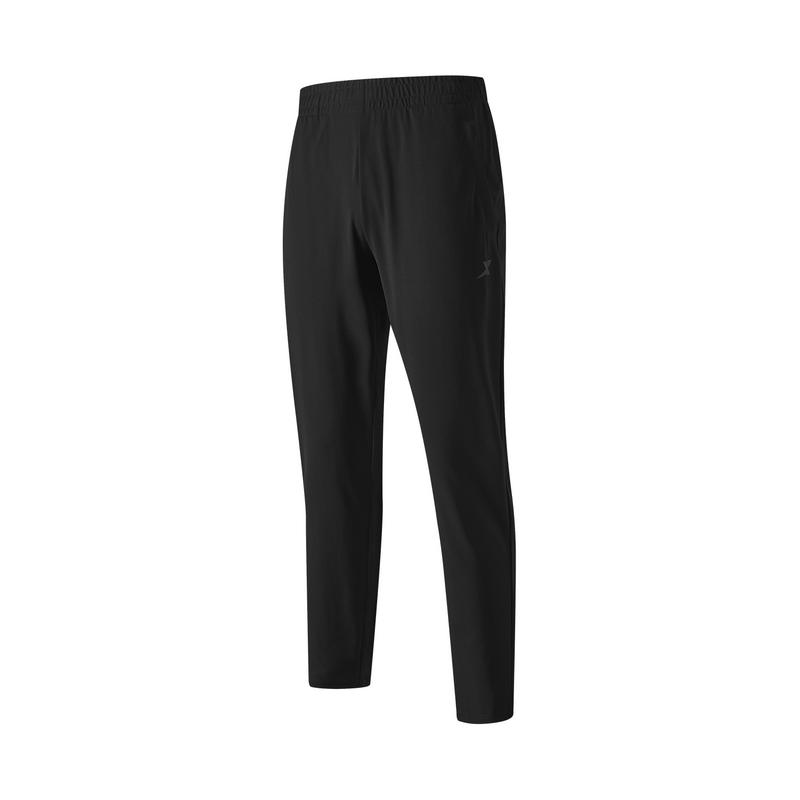 特步 专柜款 男子针织长裤 21年新款 运动舒适透气简约男长裤979329630642