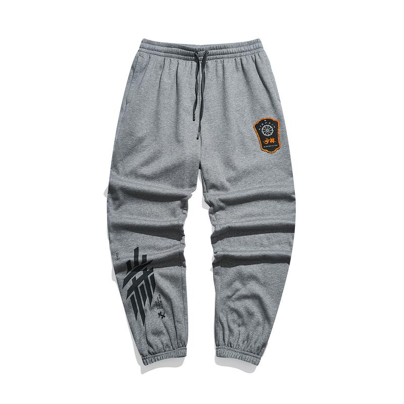 【少林联名】 专柜款 男子针织长裤 时尚潮流舒适男长裤979429630485