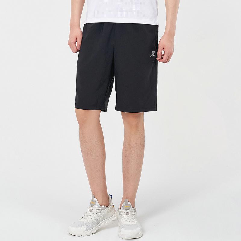 男子梭织短裤 21年新款聚酯纤维快干透气休闲中裤879229670373