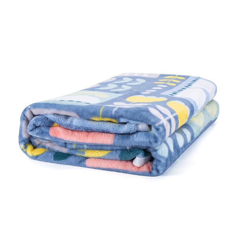 特步 毛毯 21年新款秋夏空调房午睡200m*150m毯子被子879337808003