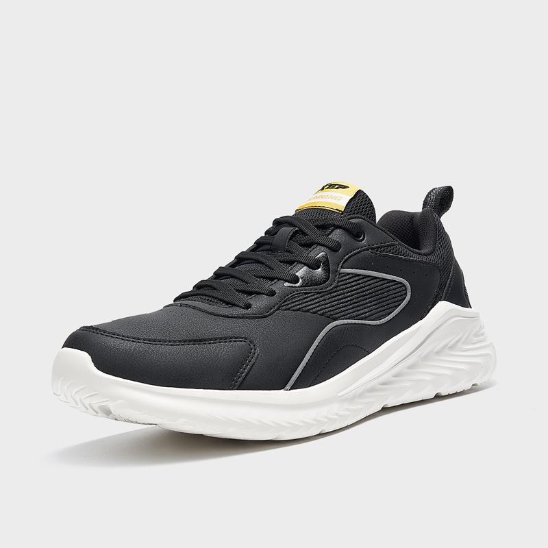 特步 男子跑鞋 21年新款革面回弹耐磨休闲鞋879319110011