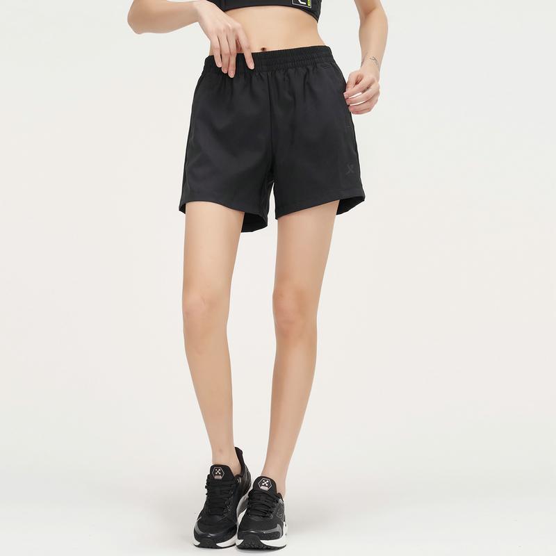 女子梭织短裤 21年新款纯色运动休闲短裤879228670346