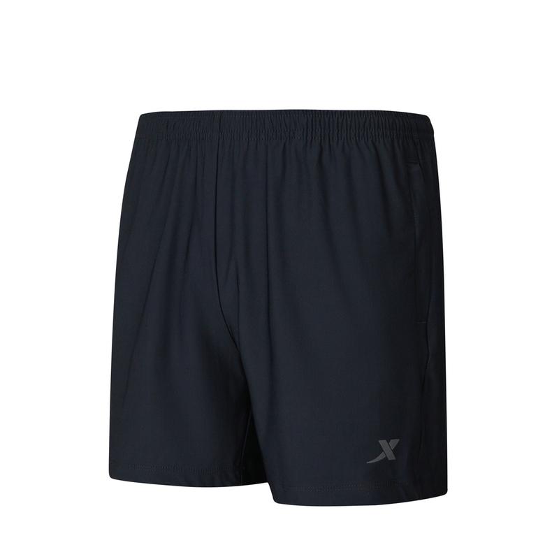特步 女子针织短裤 21年新款纯色百搭休闲运动裤879228600369