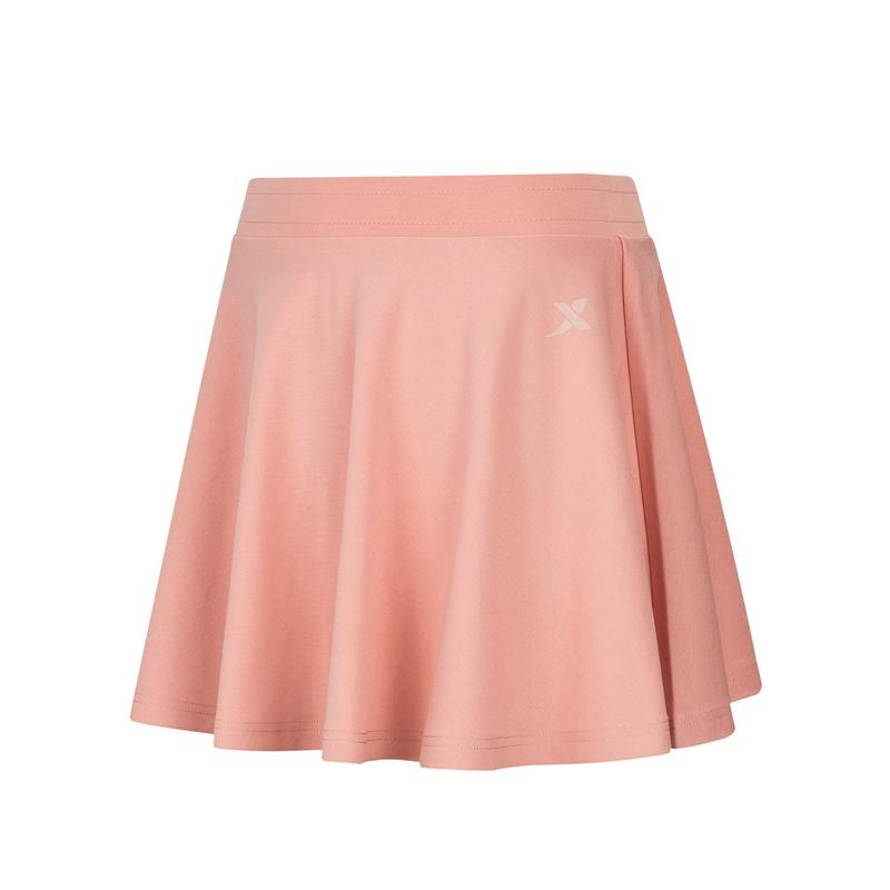 特步 女子短裙 21年新款纯色可爱休闲鞋运动短裙879228440397