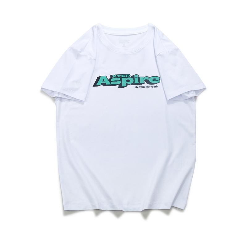 女子短袖针织衫 21年新款字母活力可盐可甜T恤879228010380