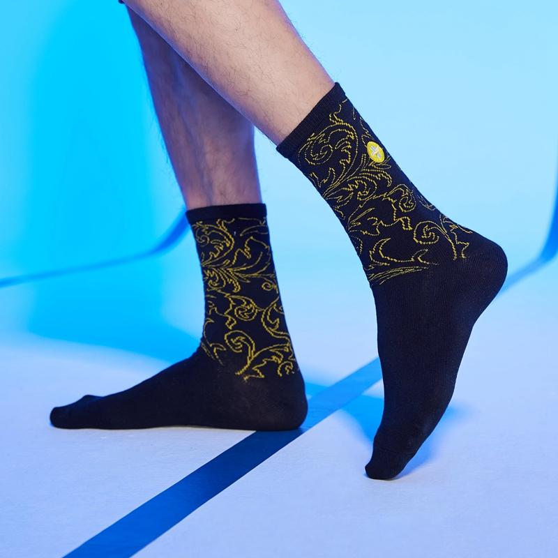 【林书豪联名】男子高帮袜 21年新款印花时尚运动透气袜子879139560092