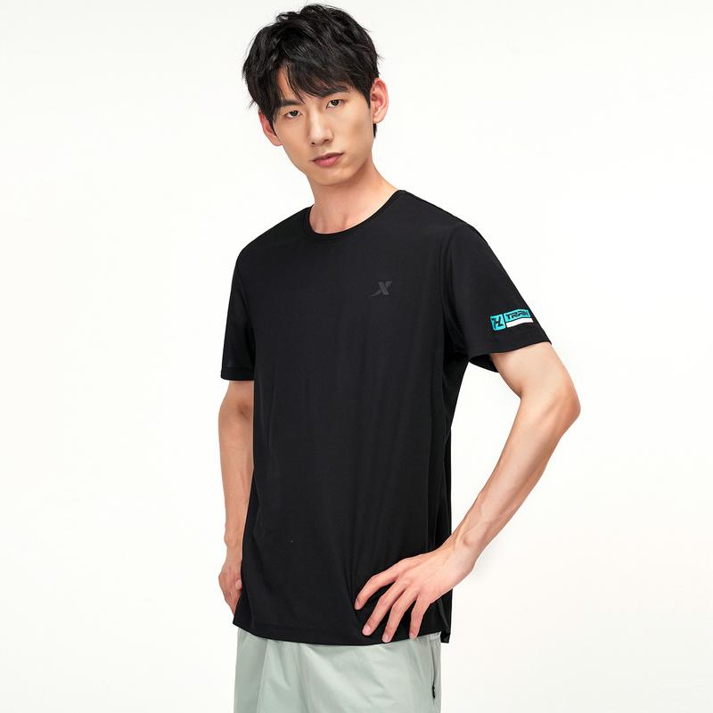 男子短袖针织衫 21年新款简约运动透气快干休闲上衣879229010340
