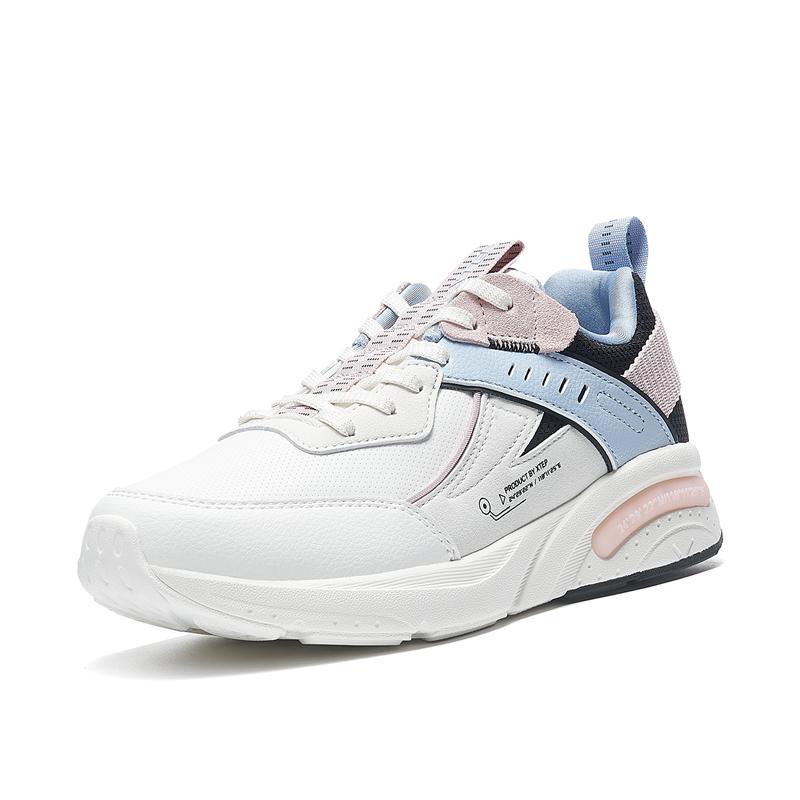 特步 专柜款 女子休闲鞋 21年新款 舒适潮流简约女休闲鞋979418320100