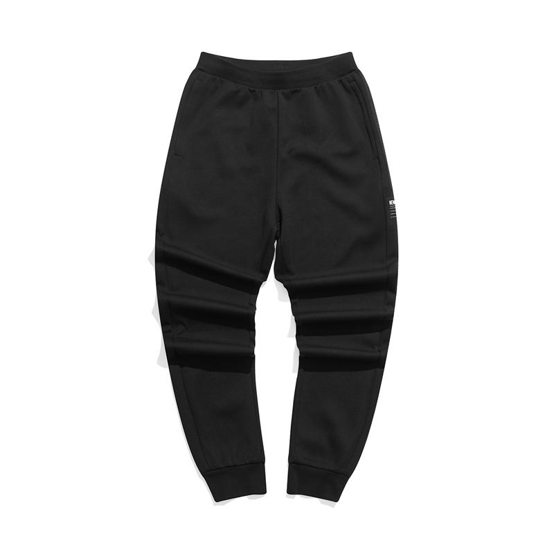 特步 专柜款 男子针织长裤 21年新款 都市时尚休闲束脚裤979329630078