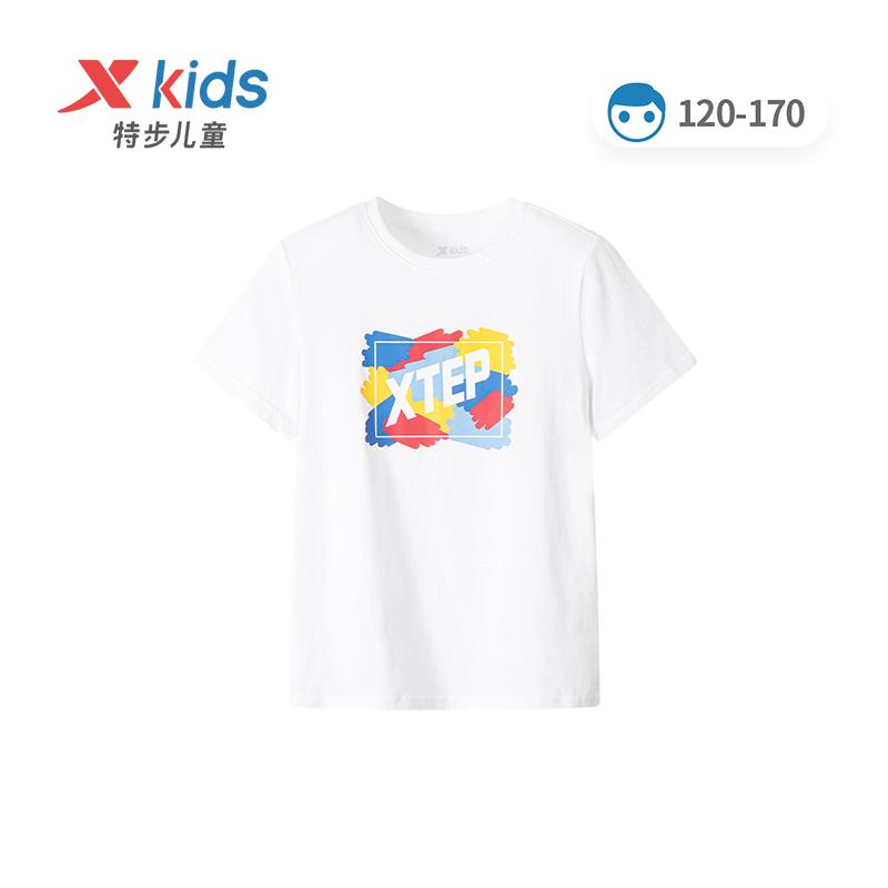 男童女童短袖T恤 21夏季新款童装纯棉休闲上衣中大童运动衣679225019158
