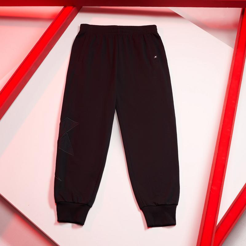 【少林联名款】男子针织长裤 21年新款跨界系列时尚修身束口长裤 879329630064
