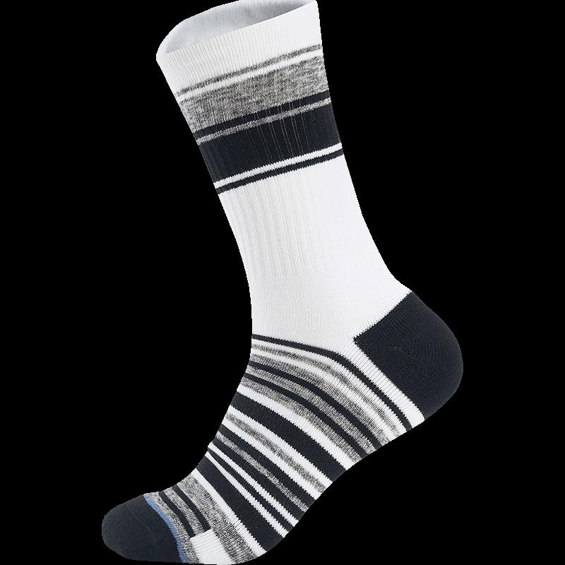 男子女子高帮袜 21年新款条纹风格袜子879437560069